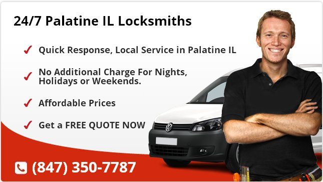 24 Hour Locksmith Palatine IL